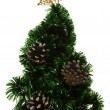 Stylized christmas tree — Stock Photo