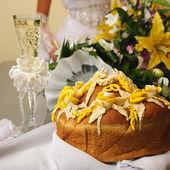 Pão de casamento — Fotografia Stock