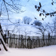 Stock Photo: Rural winter landscape