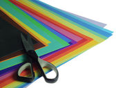 Various color paper — Stock Photo