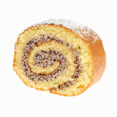 Swiss roll cake — Stock Photo