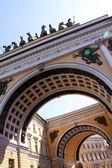 Winter Palace in Saint Peterburg — Stock Photo