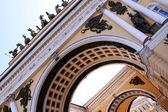 Palácio de inverno em saint peterburg — Foto Stock