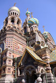 Church of the Savior on Blood - very fam — Stock Photo