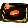 Sushi, Rolls, Sashimi - Japan kitchen — Stock Photo