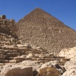 Pyramids of Giza — Stock Photo #1526369