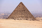 Pyramids of Giza — Stock Photo