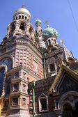 Church of the Savior on Blood - very famous land — Stock Photo