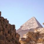 Pyramids of Giza — Stock Photo #1576418
