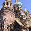 Church of the Savior on Blood - very famous land - Stock Photo