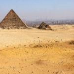 Pyramids of Giza — Stock Photo #1677808