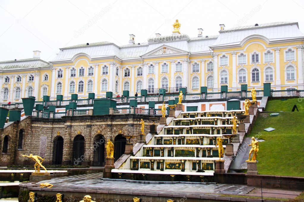 Saint petersburg. Peterhof  — Stock Photo #2542297