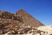 Pyramids of Giza — Stock Photo