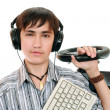 Stock Photo: Teenage gamers