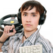 Teenage gamers - Stock Photo