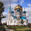 New orthodox cathedral - Stock Photo