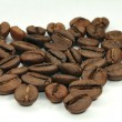 Coffee beans on a light background - Stock Photo