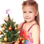 in Erwartung der Weihnacht — Stockfoto