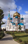 New orthodox cathedral — Stock Photo