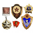 Soviet army signs — Stockfoto #1157371
