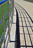 Poręcz i cienie — Zdjęcie stockowe