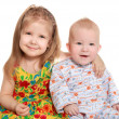BROTHER AND SISTER — Stock Photo #1170921