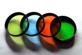 Vier filters — Stockfoto