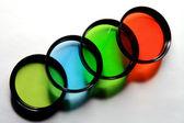 Quatro cores — Foto Stock