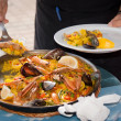 Spanish paella — Stock Photo
