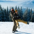 Young snowboarders — Stock Photo #1133109