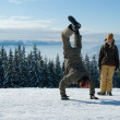 Young snowboarders — Stock Photo #1133123