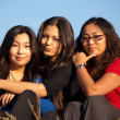 Cute asian young women — Stock Photo