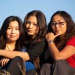 Cute asian young women — Stock Photo