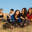 Group of young asian — Stock Photo #1134622