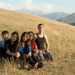 Group of young asian — Stock Photo #1134670