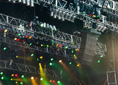 Concert lights — Stock Photo