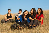 Group of young asian — Stock Photo