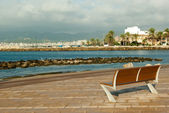 Quay in Palme de Mallorca — Stock Photo