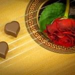 musik av två hjärtan — Stockfoto