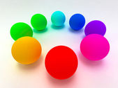 3D Spheres — Stock Photo