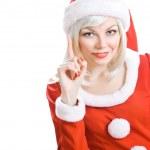 Christmas beauty Santa Claus — Stock Photo