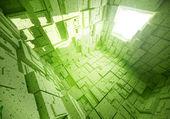 3D futuristic background — Stock Photo