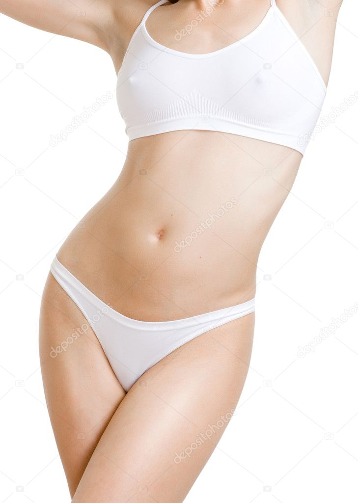 Skinny female body — Stock Photo #1294835