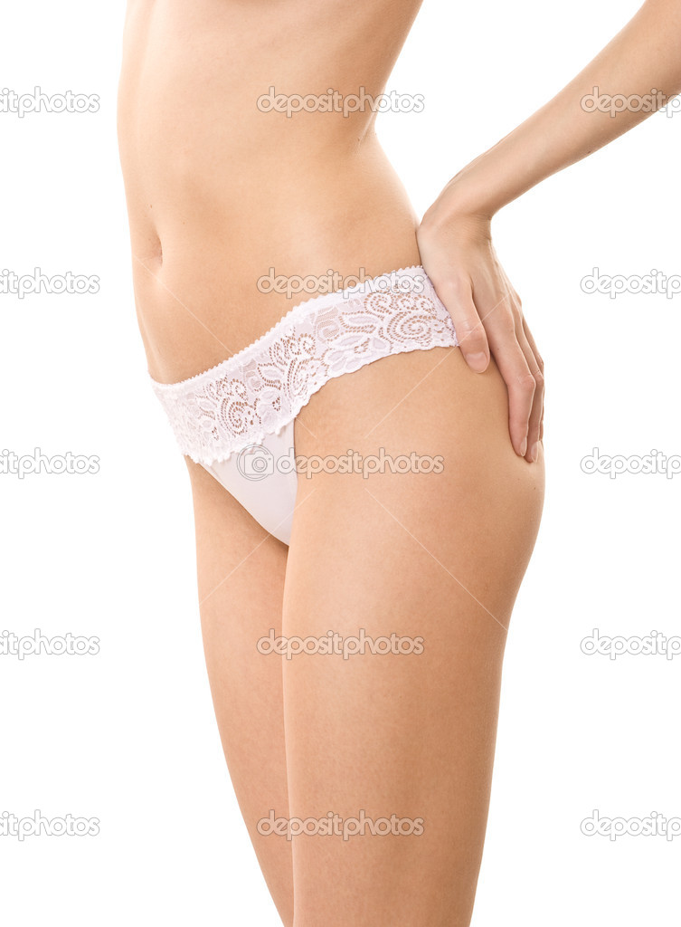 Skinny female body — Stock Photo #1297199