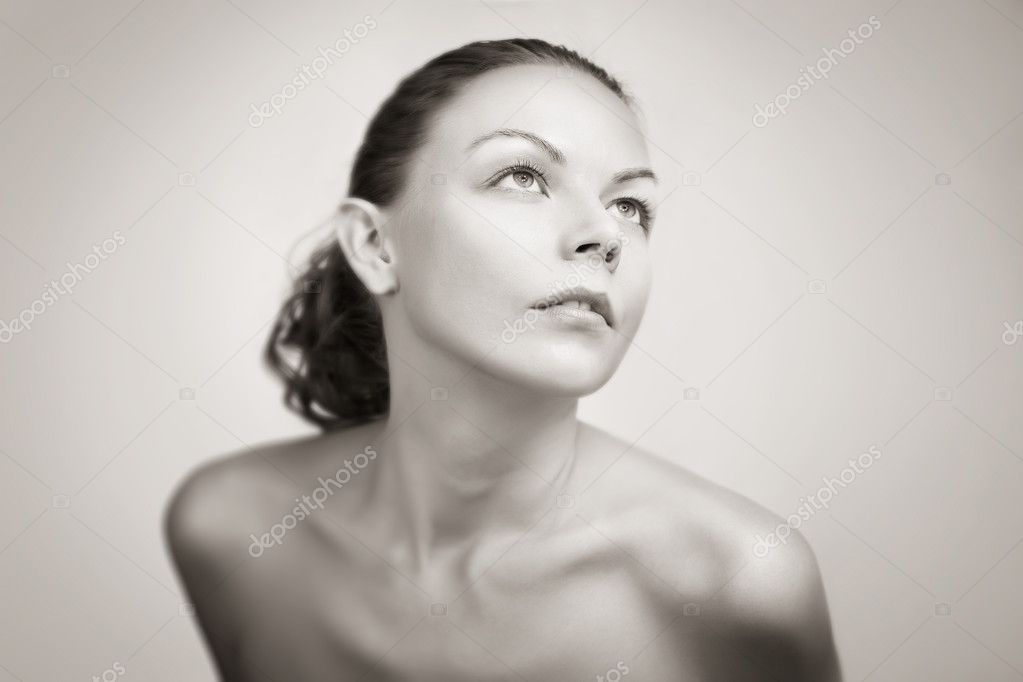 Fashion art photo. Studio photo. — Stock Photo #1297385