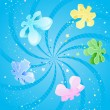Royalty-Free Stock : Colorful Snowflake Background
