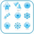 Royalty-Free Stock Vector: Vector set of flowers