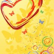 Royalty-Free Stock Vectorielle: Valentine\'s Day Heart