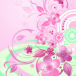 Royalty-Free Stock Vector Image: Cherry blossom background