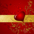 Valentines Day design. — Stockvectorbeeld